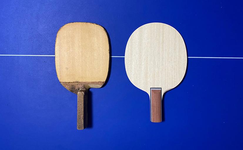 I 💗 木曽檜 (打球点とラケットの位置)